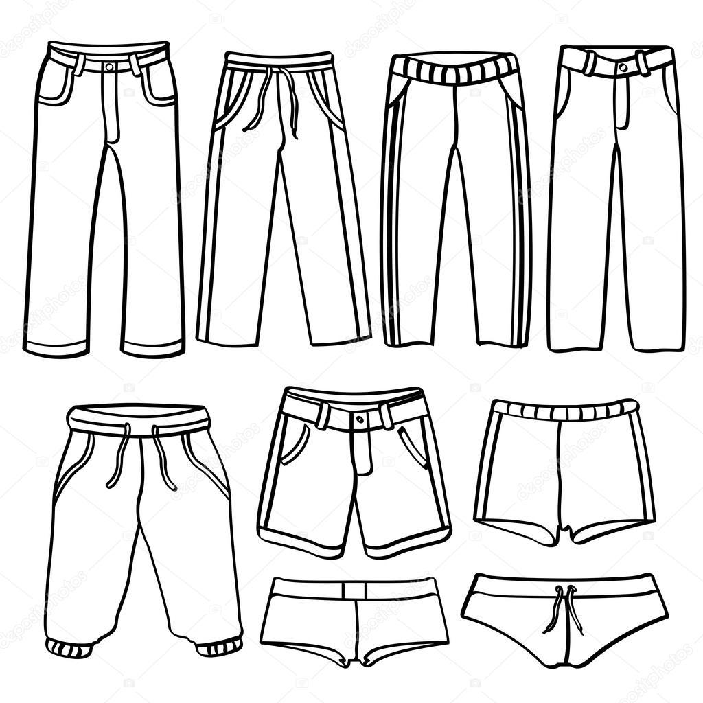 per colorare da collezione per Pantaloni Una uominiVector ImmaginiPantaloni Godfather744431 di differenti uomini tipi QxoeWdCBr