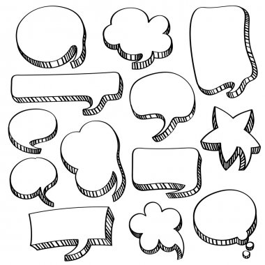 Speech and Conversation Bubbles Collection