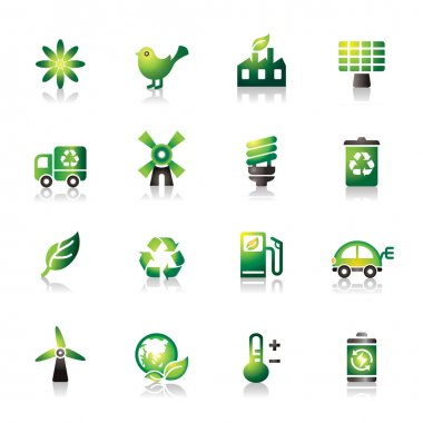 Environmental Protection Colorful Icons