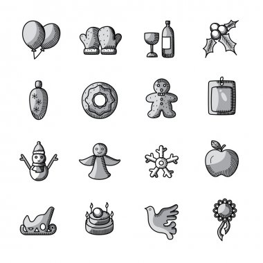 Christmas Drawing Icons