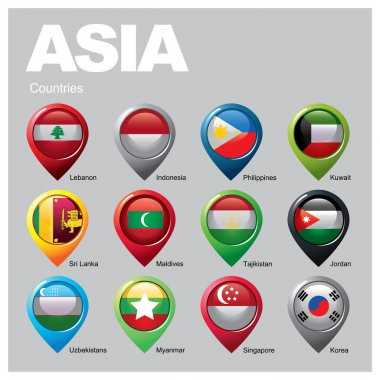 ASIA Countries - Part  Two