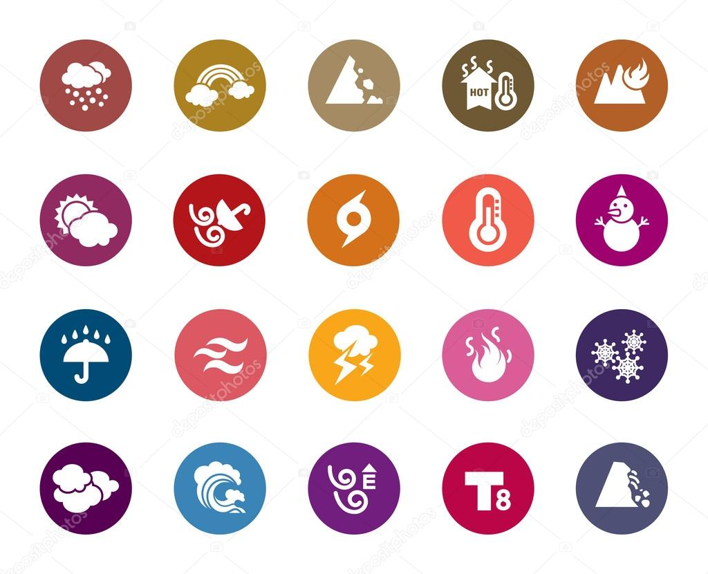 Weather Color Icons