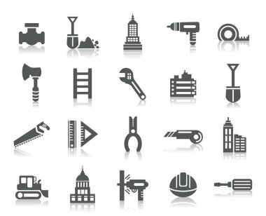 Buildings and Construction Icons