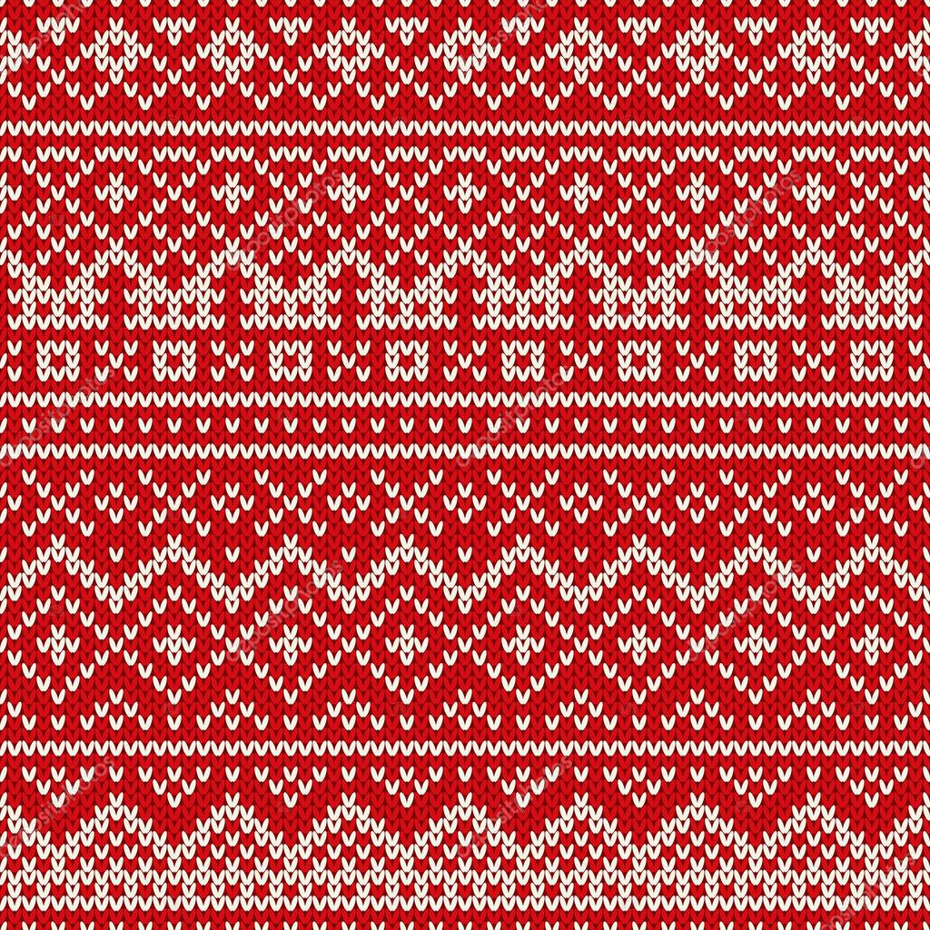 Christmas Sweater Pattern.Christmas Sweater Design Seamless Holiday Knitted Pattern