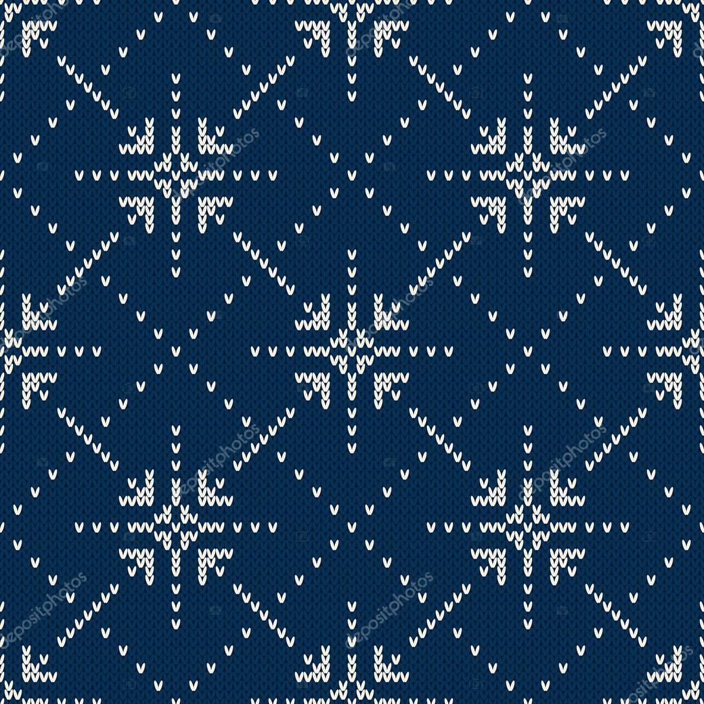Diseño de suéter de punto con estrellas. Patrón transparente ...