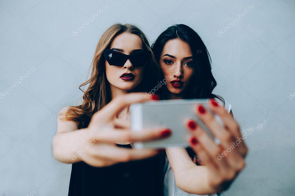 Selfies nahé dospívající