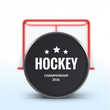 realistic Hockey puck