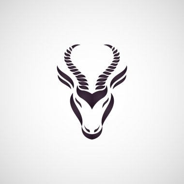 Antelope logo vector