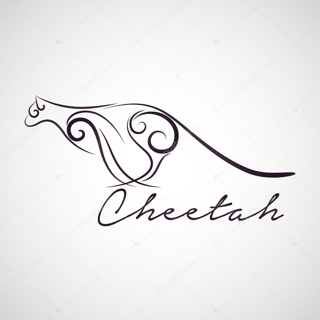 cheetah logo vector stock vector c ilovecoffeedesign 70204289 https depositphotos com 70204289 stock illustration cheetah logo vector html