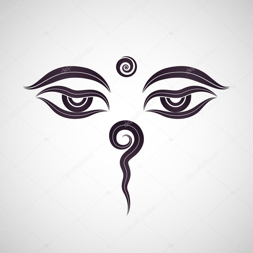 Buddha eyes nepal stock vector ilovecoffeedesign 72517229 buddha eyes nepal vector by ilovecoffeedesign biocorpaavc Images
