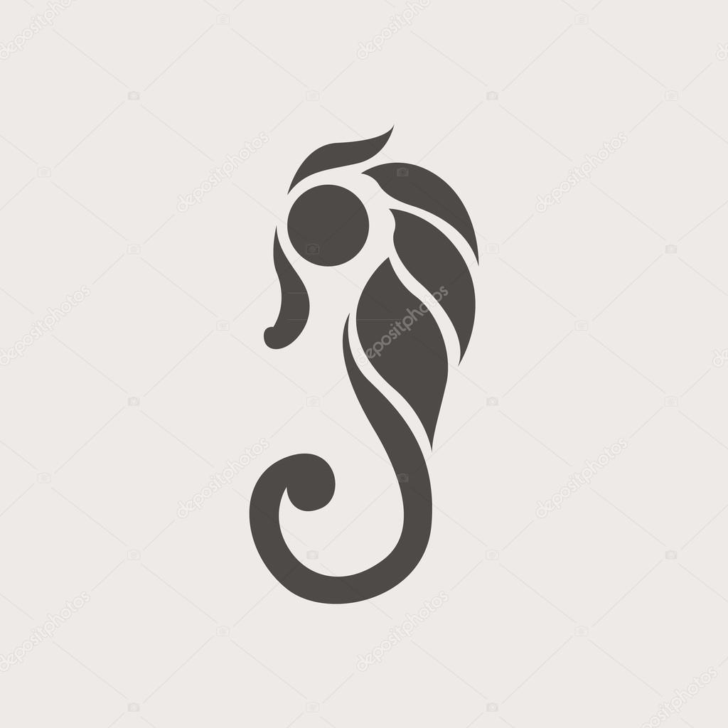 ᐈ Ocean Logos Stock Images Royalty Free Seahorse Logo Vectors Download On Depositphotos