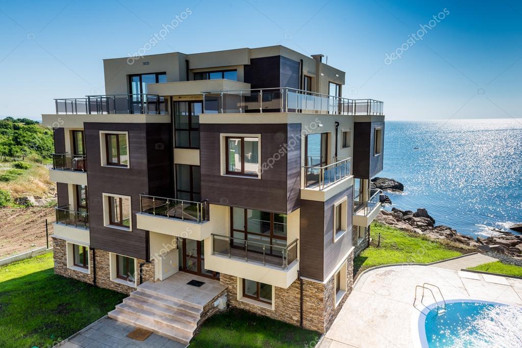 Beautiful new apartment building