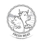Photo fresh meat