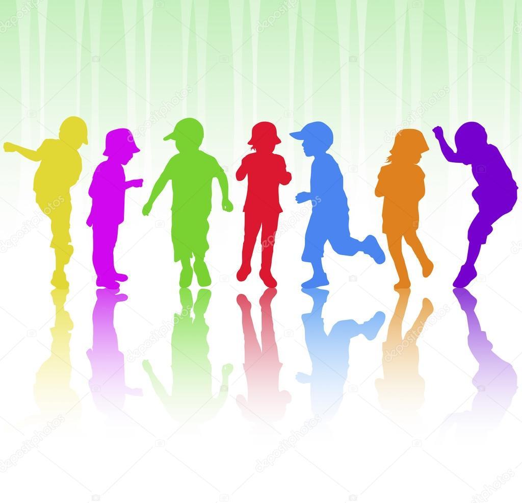 дети танцуют картинка