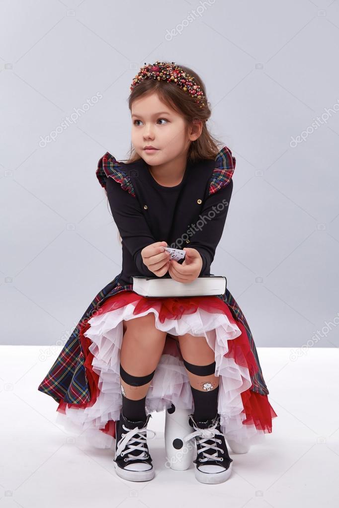 cdae23746 dress girl clothing small collection cute — Stock Photo © Iniraswork ...