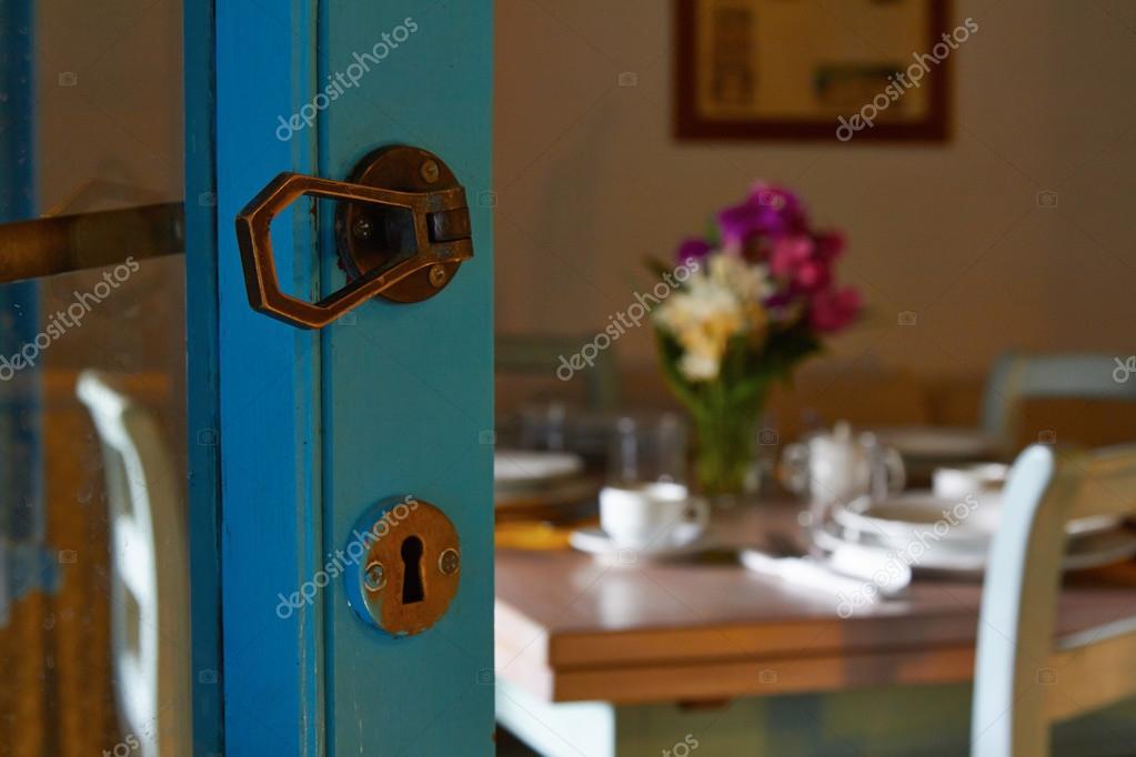 Das Innere der Küche Taverne Restaurant oder café — Stockfoto ...