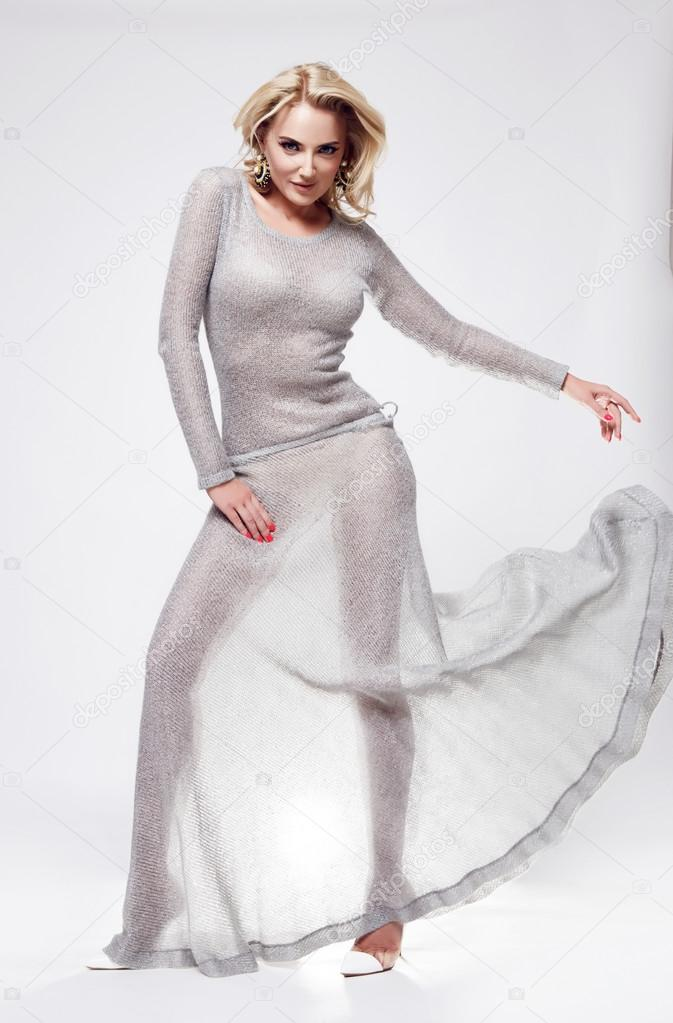 Robe de soiree pour blonde