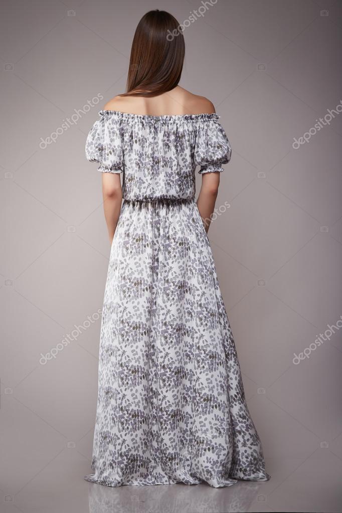 635997133035 Krása módní oblečení neformální kolekce žena model bruneta– stock obrázky