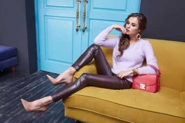 Women clothing makeup catalog collection fashion style