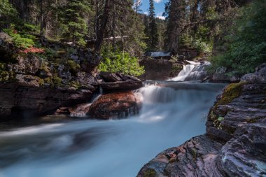 Virginia Creek Cascades Long Exposure