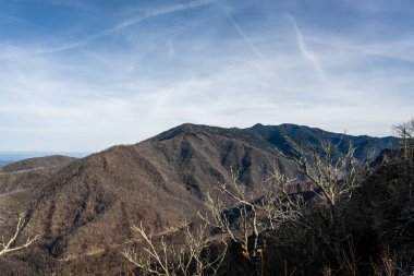 View Of Mount LeConte In Late Fall from the Sugarland Trail
