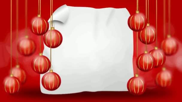 Červené vánoční žárovky pozadí
