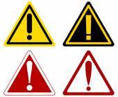 Fotografia segnali di avvertimento attenzione
