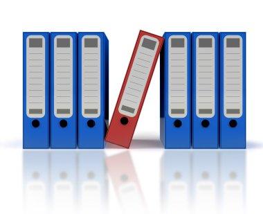 ring binders - file folders