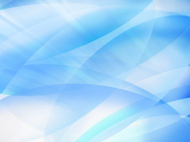 bright blue abstract background