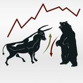 Photo exchange, bull and bear, market report