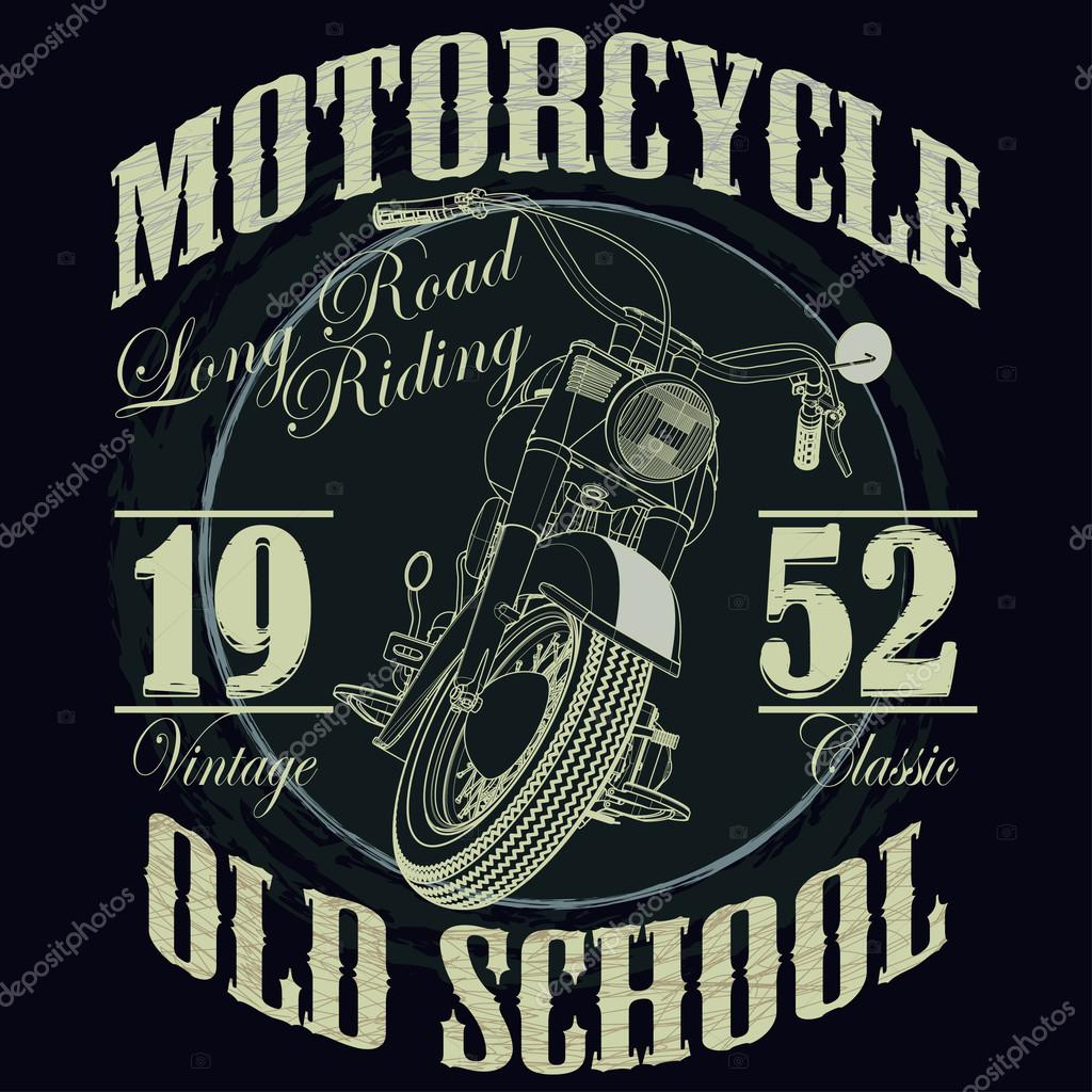 motorcycle racing typography graphics racing t shirt design v - Racing T Shirt Design Ideas