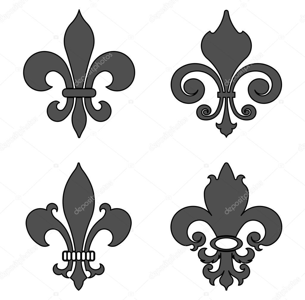 fleur de lis, heraldic symbol