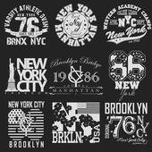 Set tričko New York