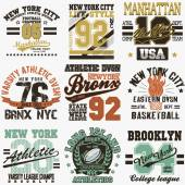 Fotografie New York t-shirt set