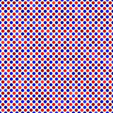Red blue abstract dot pattern background