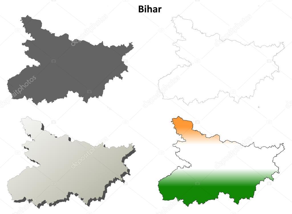 ビハール州概要地図セット — ス...