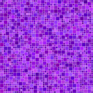 Purple square mosaic background