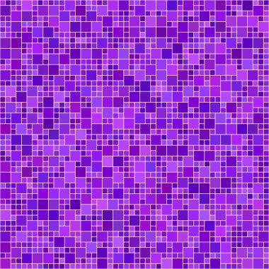 Purple square mosaic background