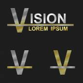 Fotografia Letter V (vision)