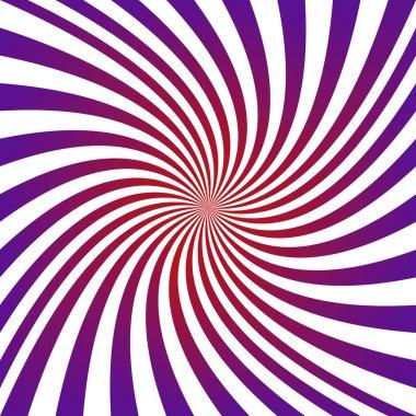 Purple and red hypnotic spiral design background