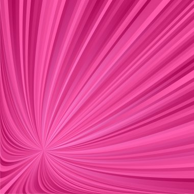 Pink striped ray background
