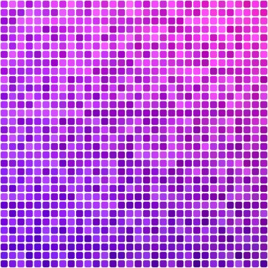Pink and purple pixel mosaic background