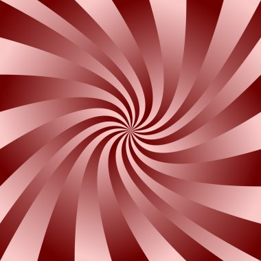 Maroon swirl design