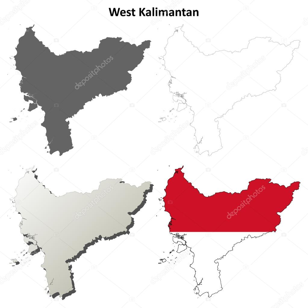 ᐈ peta kalimantan barat stock vectors royalty free kalimantan map illustrations download on depositphotos https depositphotos com 59453687 stock illustration west kalimantan blank outline map html
