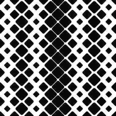 Seamless monochrome paving stone pattern