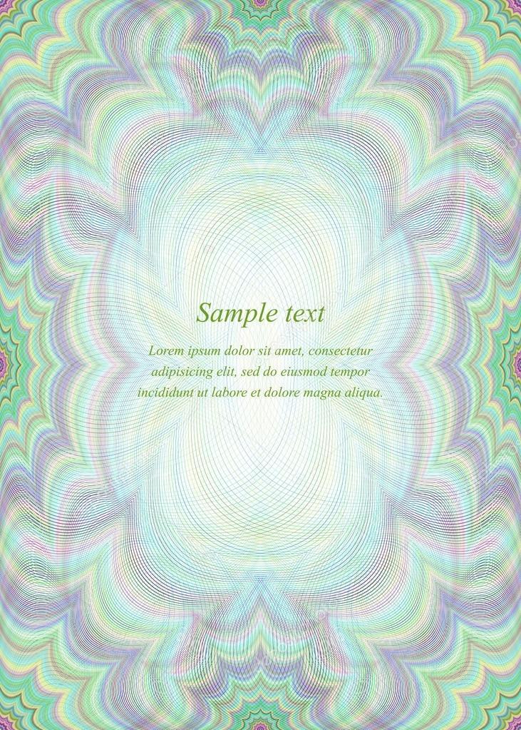 Fondo de diseño de la página de color — Vector de stock © davidzydd ...