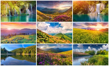 9  summer landscapes