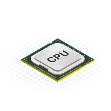 Isometric LGA Processor