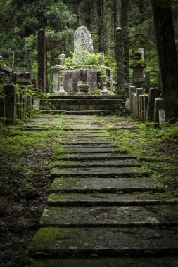 Buddhist cemetery at the Kiyomizu-dera