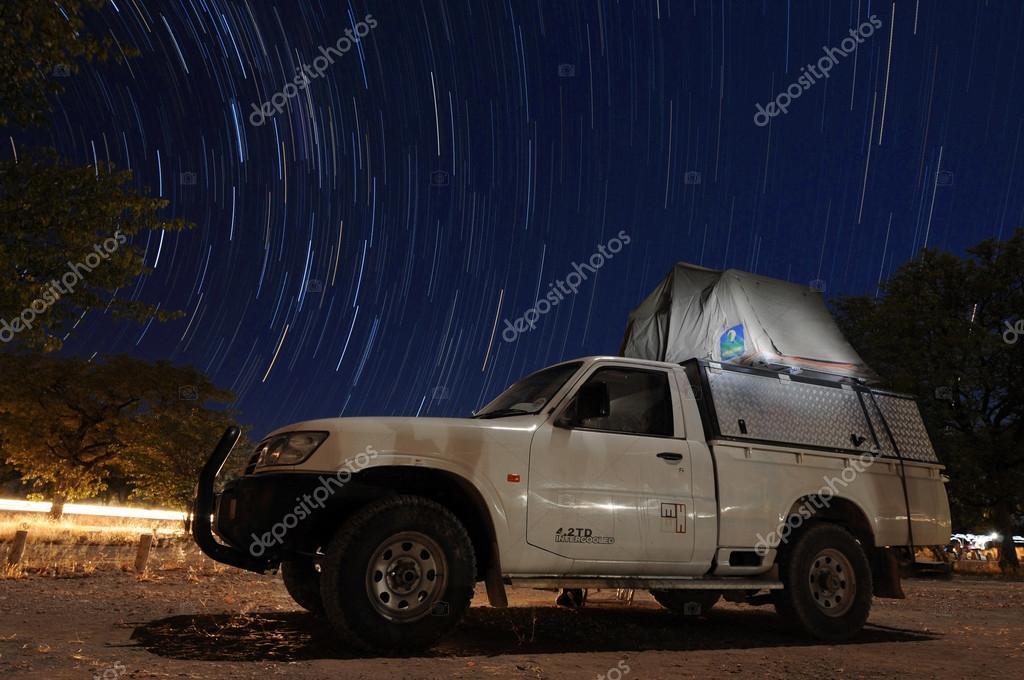 Vehicle at night